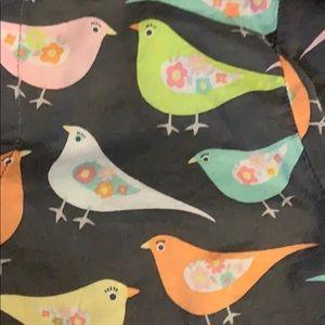PJ Salvage Intimates & Sleepwear - PJ SALVAGE Sweet Set Grey Birds Cotton Pajama Set